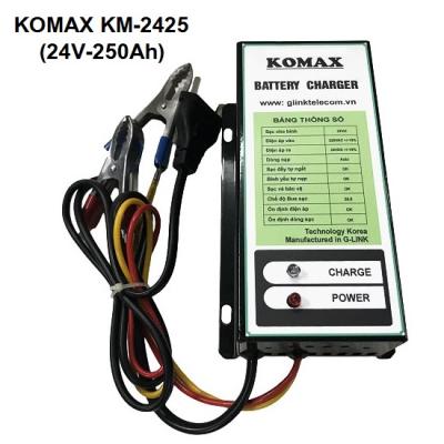 Nạp ắc quy tự động KOMAX 24V-250Ah, KM-2425