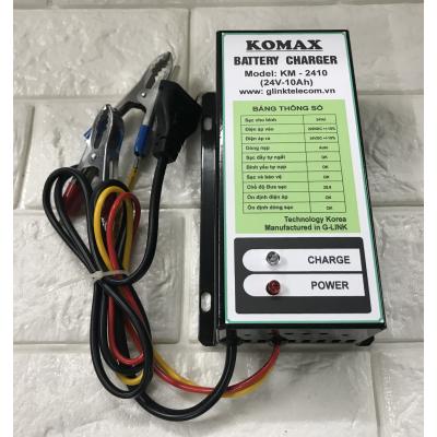 Máy Sạc ắc quy tự động KOMAX KM-2410