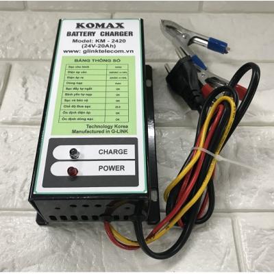Máy Sạc ắc quy tự động KOMAX KM-2420