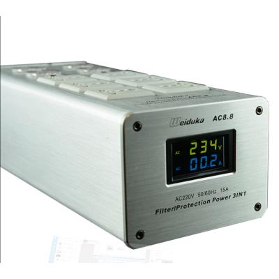 Bộ lọc nguồn điện Audio Weiduka AC 8.8 bản 2019, màu Bạc