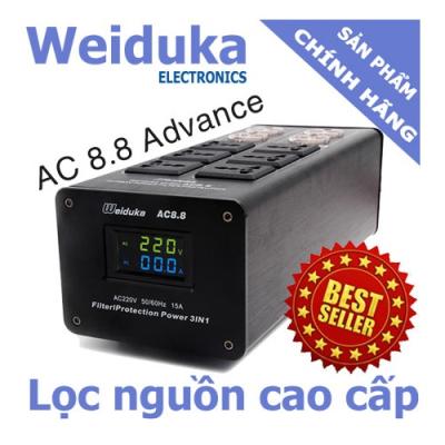 Bộ lọc nguồn điện Audio Weiduka AC 8.8 bản 2019, màu Đen