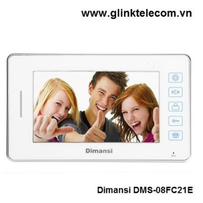 Chuông cửa hình và tiếng Dimansi DMS-08FC21E