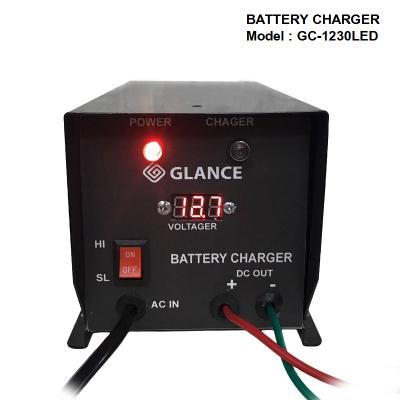 Sạc ắc quy GLANCE GC-1230 LED (12V-300Ah)