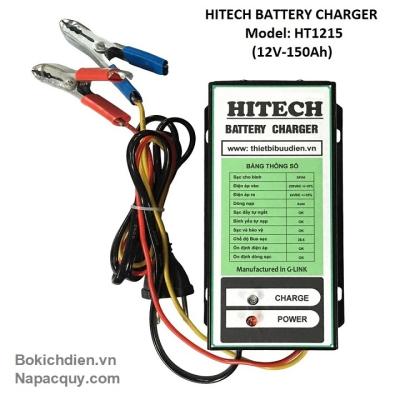 Sạc ắc quy tự động 3 chế độ HITECH HT-1215