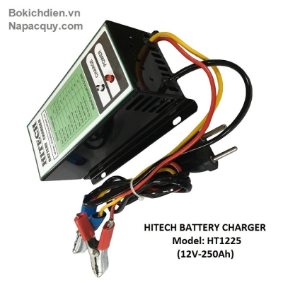 Sạc ắc quy tự động 3 chế độ HITECH HT-1225