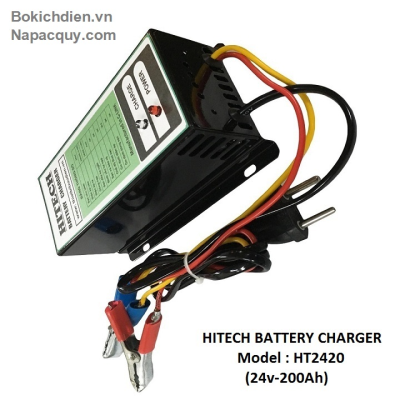 Sạc ắc quy tự động 3 chế độ HITECH HT-2420