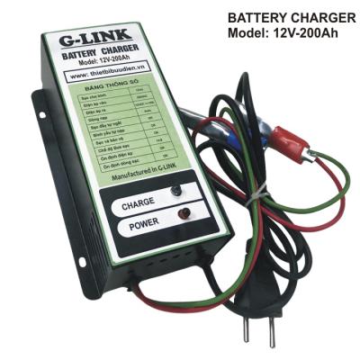 Máy Sạc ắc quy tự động G-LINK G12V-200Ah
