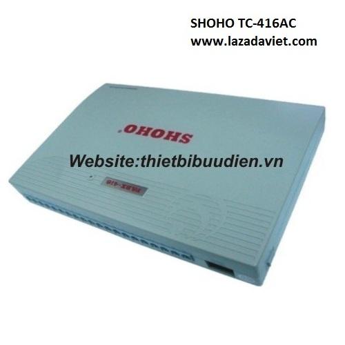 Tổng đài điện thoại SHOHO TC416AC
