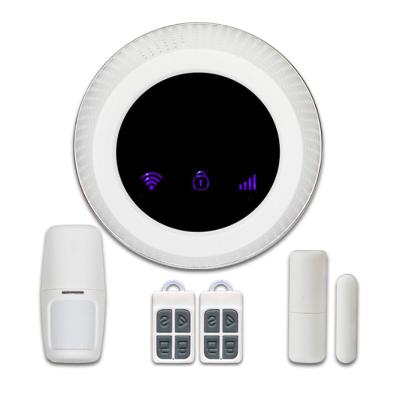 Bộ Báo Động Chống Trộm Cao Cấp Qua Wifi + Sim GSM + Kiểu Dáng Đẹp GW01