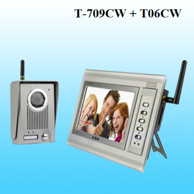 Bộ chuông hình không dây T-709CW