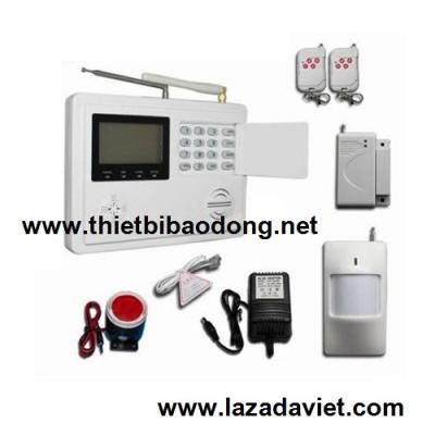 Bộ báo trộm dùng SIM và line KOMAX KM-6100