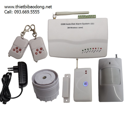 Bộ báo động không dây dùng SIM Wolf-Guard WSYL007M3B