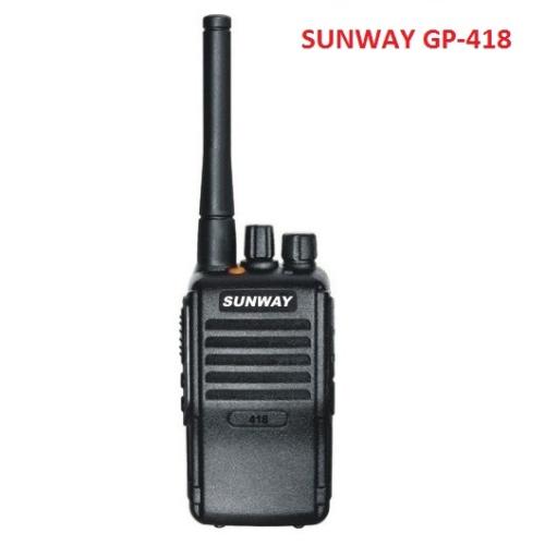 Bộ đàm cầm tay SUNWAY GP 418
