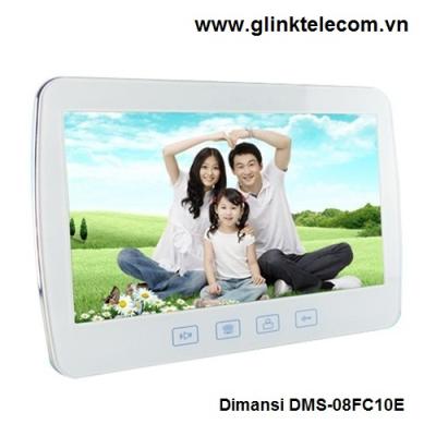 Bộ chuông cửa hình và tiếng Dimansi DMS-08FC10E
