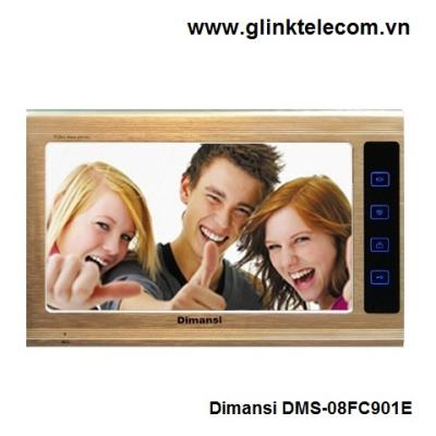 Bộ chuông cửa hình và tiếng Dimansi DMS-08FC901E