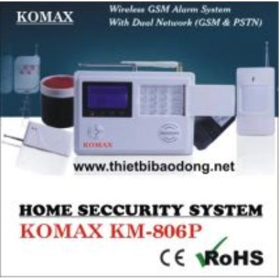 Trung tâm báo động không dây Komax KM-806P